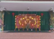 Sắc xuân trong sân trường